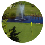 el camapanario golf fountain